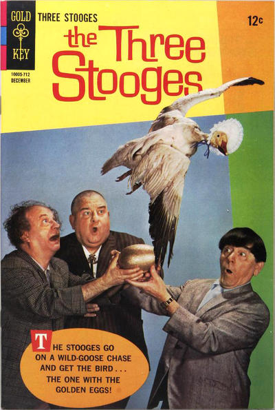 Cover for The Three Stooges (Western, 1962 series) #37