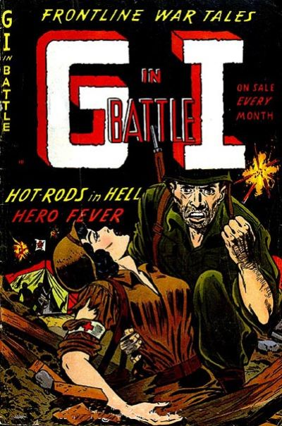 Cover for G-I in Battle (Farrell, 1952 series) #5