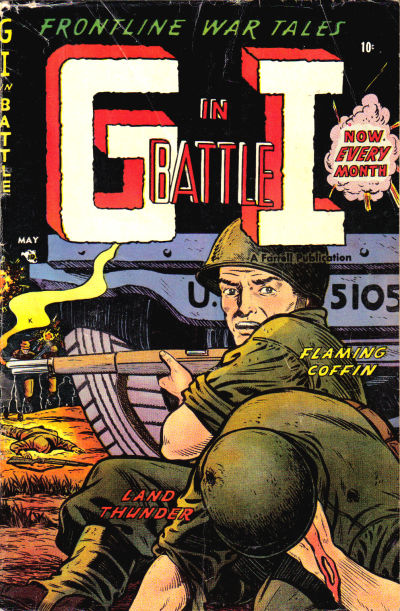 Cover for G-I in Battle (Farrell, 1952 series) #8