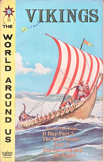 Cover for The World Around Us (Gilberton, 1958 series) #29 - Vikings
