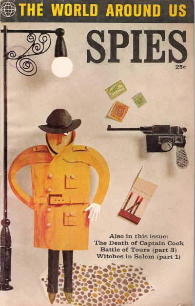 Cover for The World Around Us (Gilberton, 1958 series) #35 - Spies