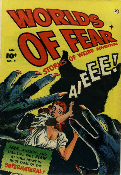 Cover for Worlds of Fear (Fawcett, 1952 series) #2