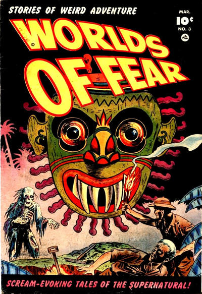 Cover for Worlds of Fear (Fawcett, 1952 series) #3