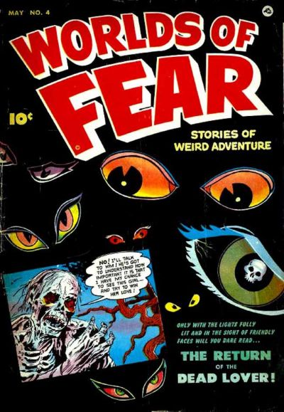Cover for Worlds of Fear (Fawcett, 1952 series) #4
