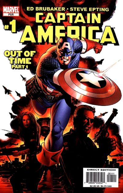 Cover for Captain America (Marvel, 2005 series) #1