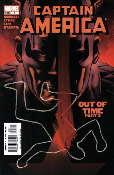 Cover for Captain America (Marvel, 2005 series) #2