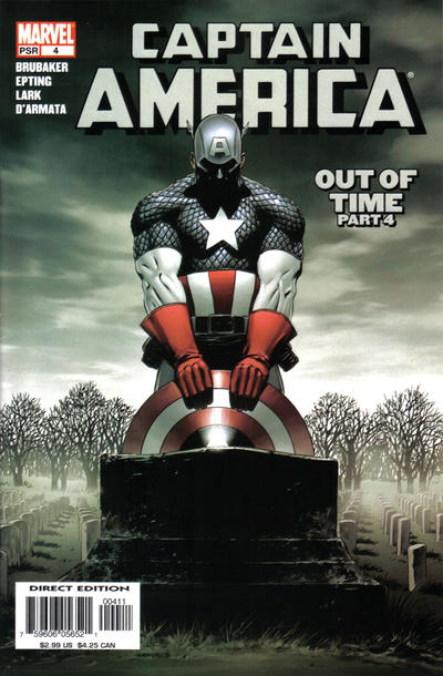 Cover for Captain America (Marvel, 2005 series) #4