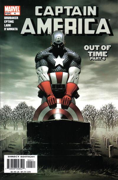 Cover for Captain America (Marvel, 2005 series) #4