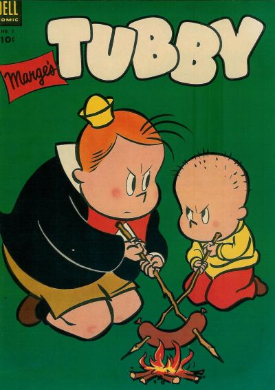 Cover for Marge's Tubby (Dell, 1953 series) #5
