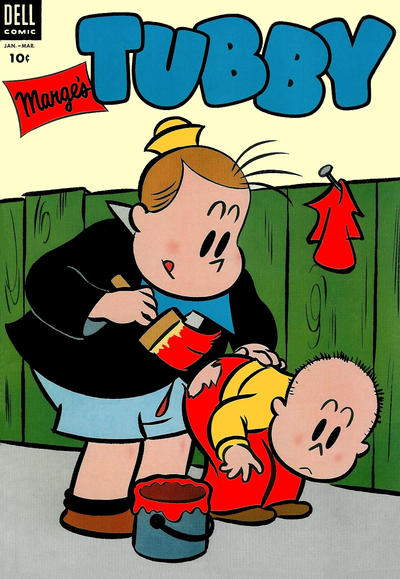 Cover for Marge's Tubby (Dell, 1953 series) #7