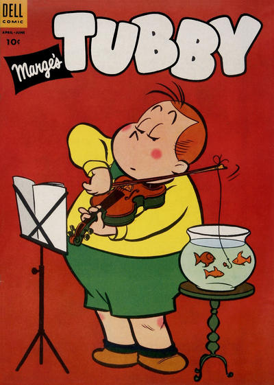 Cover for Marge's Tubby (Dell, 1953 series) #8