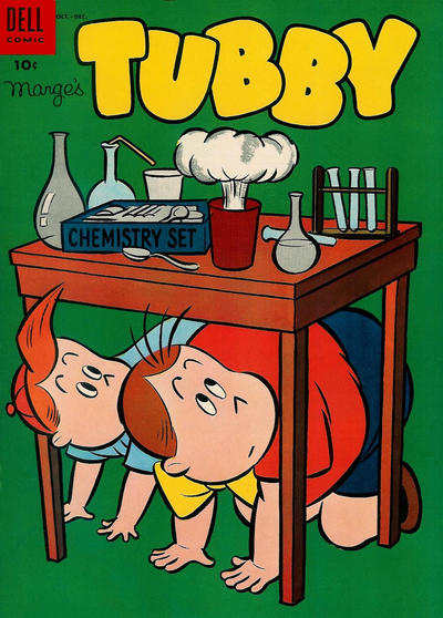 Cover for Marge's Tubby (Dell, 1953 series) #10