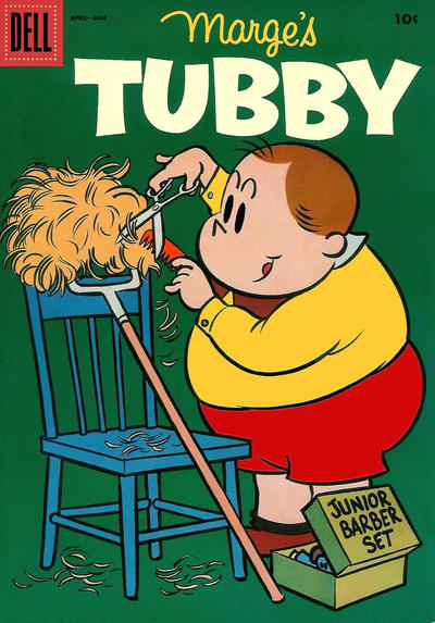 Cover for Marge's Tubby (Dell, 1953 series) #16