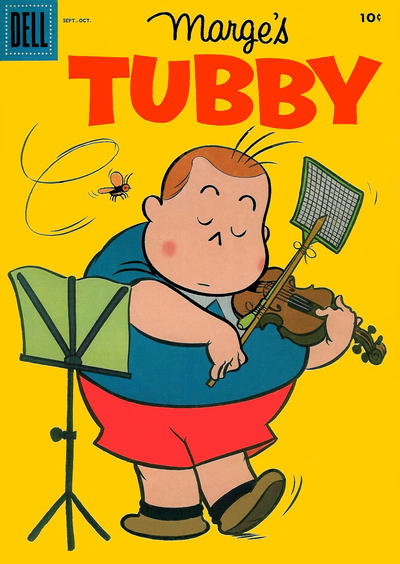 Cover for Marge's Tubby (Dell, 1953 series) #18