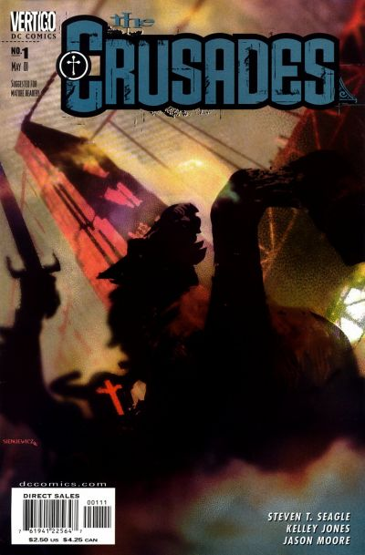 Cover for The Crusades (DC, 2001 series) #1