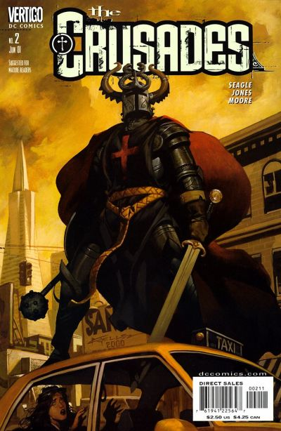 Cover for The Crusades (DC, 2001 series) #2