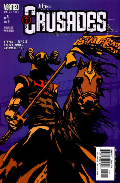 Cover for The Crusades (DC, 2001 series) #4
