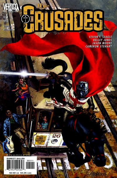 Cover for The Crusades (DC, 2001 series) #5