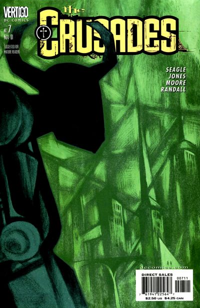 Cover for The Crusades (DC, 2001 series) #7