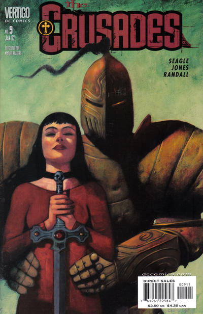 Cover for The Crusades (DC, 2001 series) #9