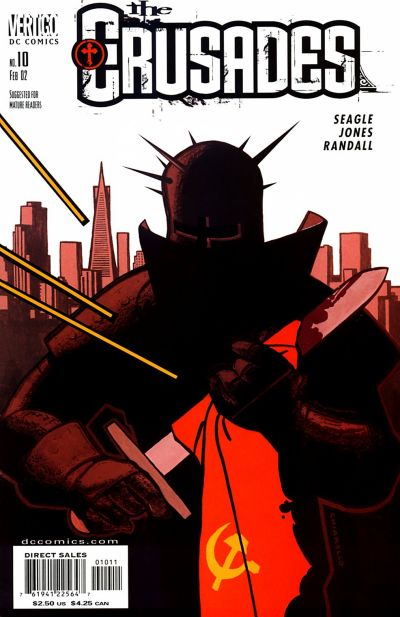 Cover for The Crusades (DC, 2001 series) #10