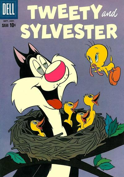 Cover for Tweety and Sylvester (Dell, 1954 series) #26
