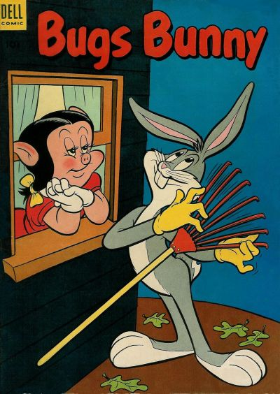 Cover for Bugs Bunny (Dell, 1952 series) #35