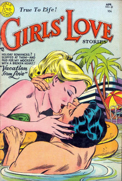 Cover for Girls' Love Stories (DC, 1949 series) #22