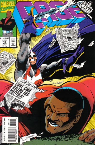 Cover for Cage (Marvel, 1992 series) #17 [Direct Edition]