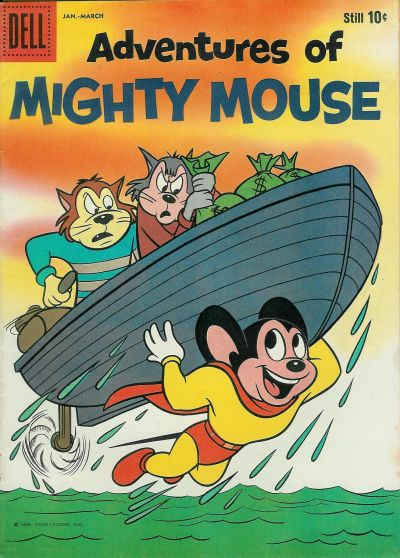 Cover for Adventures of Mighty Mouse (Dell, 1959 series) #145