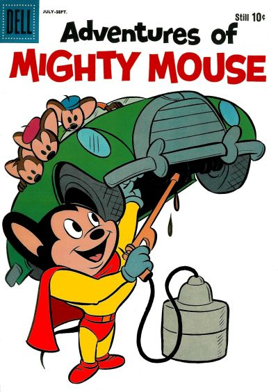 Cover for Adventures of Mighty Mouse (Dell, 1959 series) #147