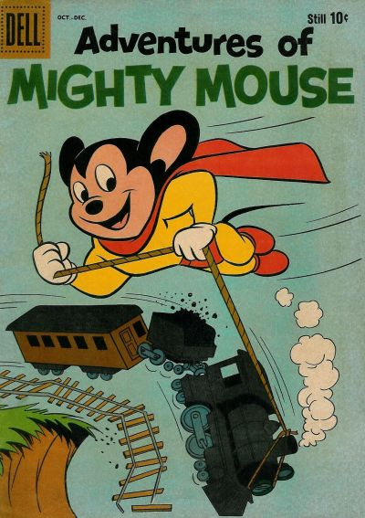 Cover for Adventures of Mighty Mouse (Dell, 1959 series) #148