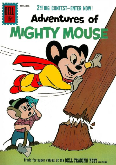 Cover for Adventures of Mighty Mouse (Dell, 1959 series) #152