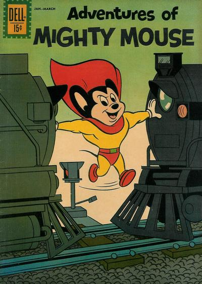 Cover for Adventures of Mighty Mouse (Dell, 1959 series) #153
