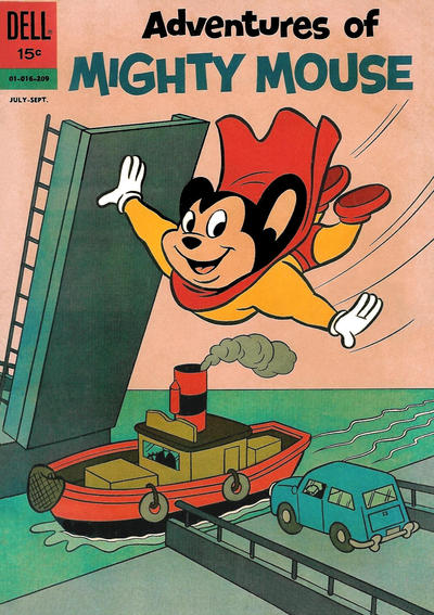 Cover for Adventures of Mighty Mouse (Dell, 1959 series) #155