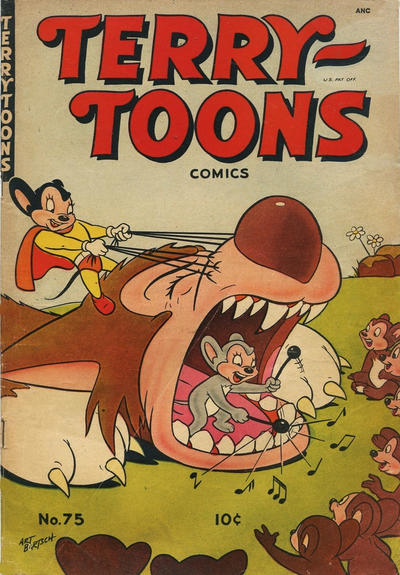 Cover for Terry-Toons Comics (St. John, 1947 series) #75