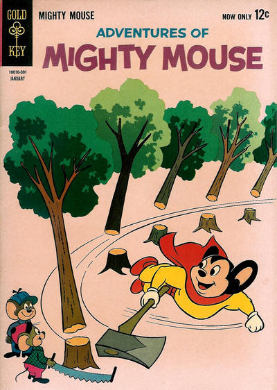 Cover for Adventures of Mighty Mouse (Western, 1962 series) #157