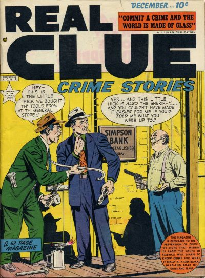 Cover for Real Clue Crime Stories (Hillman, 1947 series) #v4#10 [46]