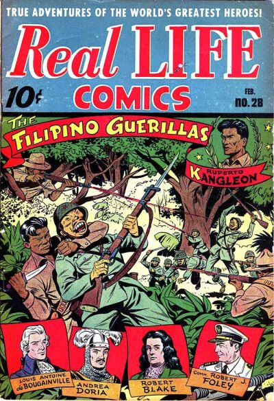 Cover for Real Life Comics (Pines, 1941 series) #28