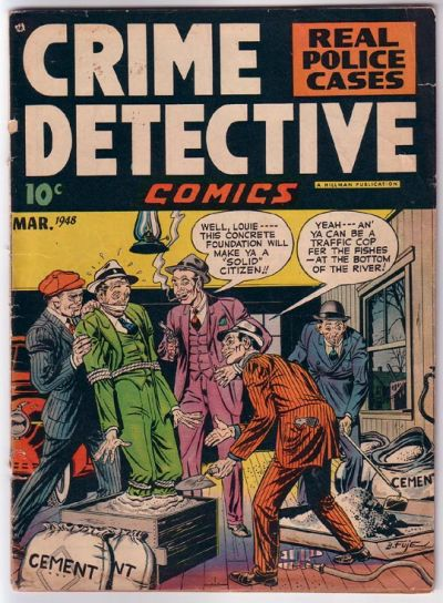 Cover for Crime Detective Comics (Hillman, 1948 series) #v1#1
