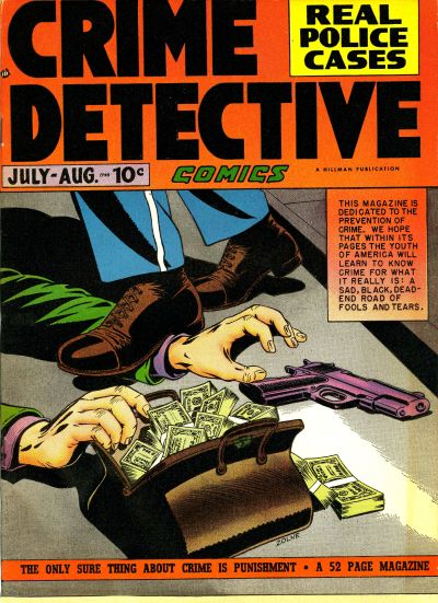Cover for Crime Detective Comics (Hillman, 1948 series) #v1#3