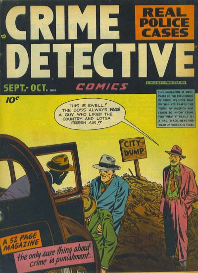 Cover for Crime Detective Comics (Hillman, 1948 series) #v1#4