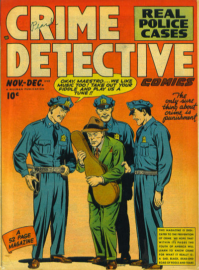Cover for Crime Detective Comics (Hillman, 1948 series) #v1#5