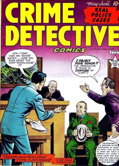 Cover for Crime Detective Comics (Hillman, 1948 series) #v1#8
