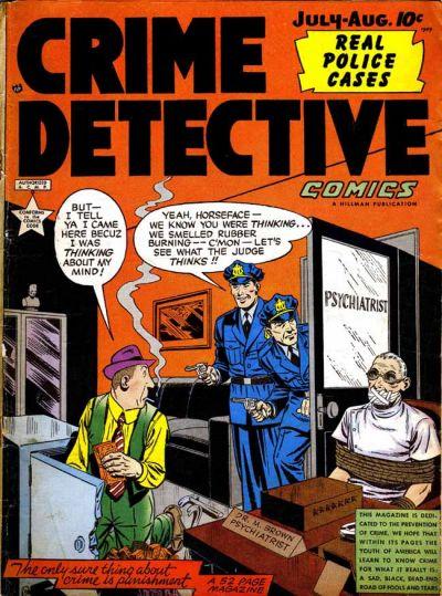 Cover for Crime Detective Comics (Hillman, 1948 series) #v1#9