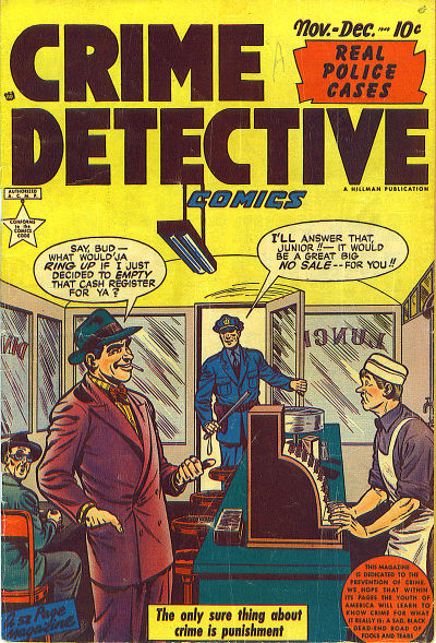 Cover for Crime Detective Comics (Hillman, 1948 series) #v1#11