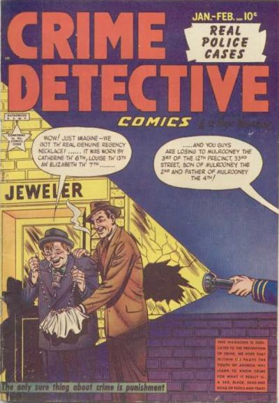 Cover for Crime Detective Comics (Hillman, 1948 series) #v1#12