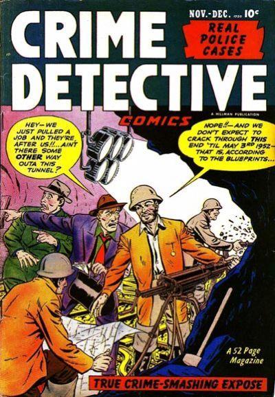 Cover for Crime Detective Comics (Hillman, 1948 series) #v2#5