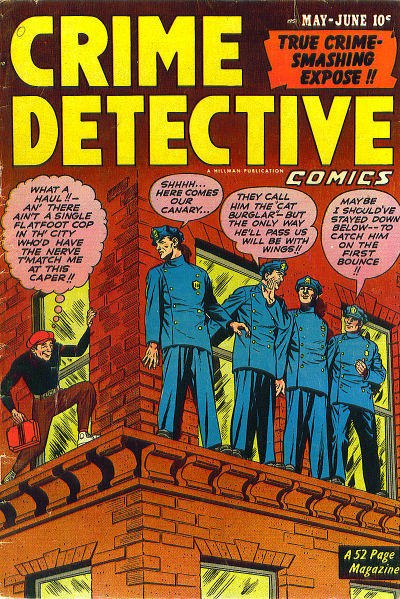 Cover for Crime Detective Comics (Hillman, 1948 series) #v2#8