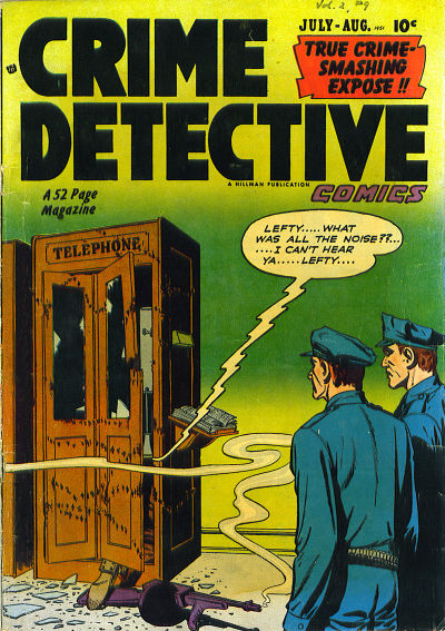 Cover for Crime Detective Comics (Hillman, 1948 series) #v2#9